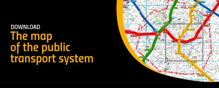 Download the map of the public transport system