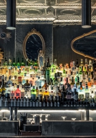 Bar Counter Officina Milano - Pic Courtesy of Officina Milano