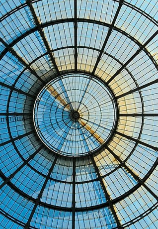 Galleria Vittorio Emanuele Glass Dome