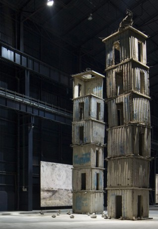 Anself Kiefer The Seven Heavenly Palaces 2004-2015. Courtesy Pirelli HangarBicocca. Photo Agostino Osio