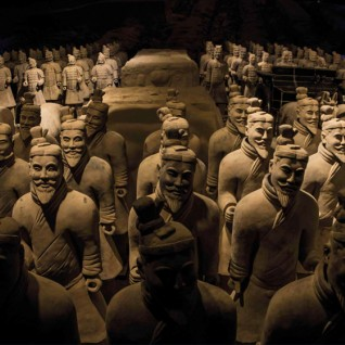 The Terracotta Army and the first Emperor of China