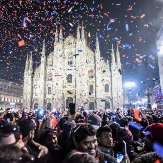 New Year's Eve free concert in Piazza Duomo