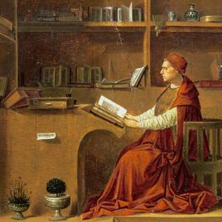 Antonello da Messina - Saint Jerome in his study (detail)