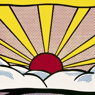 Roy Lichtenstein  - Sunrise, 1965