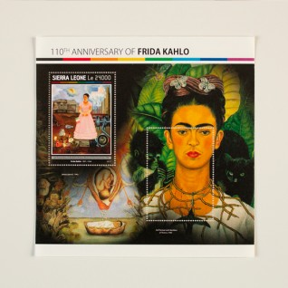 Frida Kahlo. The chaos within